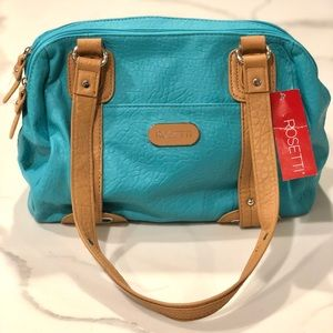 NEW Rossetti Turquoise Blue Purse/Handbag